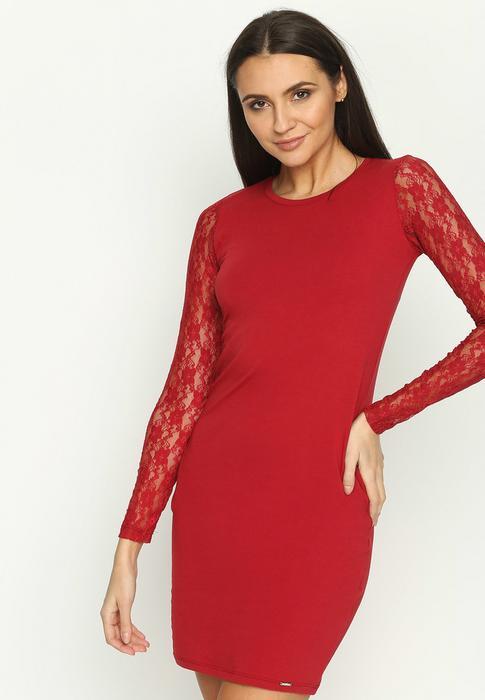 8bec76cdae Renee Bordowa Sukienka Snug – ceny