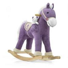 Milly Mally Koń na biegunach Pony Purple 1077 5901761122589