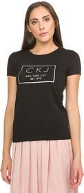 Calvin Klein T-shirt Czarny S (190439)