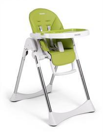 Krzesełko do karmienia ze stolikiem, leżaczek Lindo, Zielone