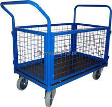 WIZ Wózki Wózek platformowy osiatkowany. Wym. 1000x600mm (Ładowność: 250kg)