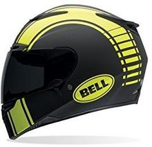 Bell Powersports RS-1 kask motocyklowy, kolor: czarny/żółty (Liner Matte Schwarz), rozmiar: S 7050181