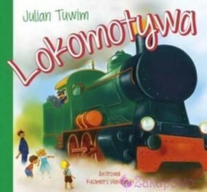 WYDAWNICTWO-SKRZAT Lokomotywa-Julian Tuwim książeczka dla dzieci twarda oprawa 9788374379076
