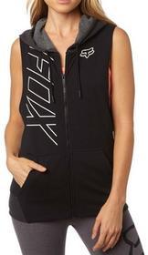 Foxbluza Precised Cut Off Zip Hdy Black 001)