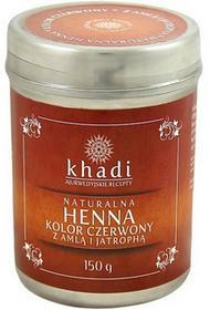 Khadi Naturalna Henna Czerwony z Amlą i Jatrophą 150g henna6