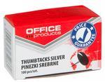Office products Pinezki klasyczne . srebrne 18195013-19