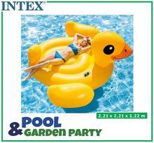 Intex Dmuchany materac kaczka duży 221x221 cm 56286