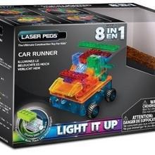 Laser Pegs 8 in 1 Car Runner RN1320B
