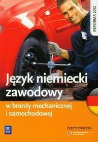 WSiP Język niemiecki zawodowy w branży mechanicznej i samochodowej Zeszyt ćwiczeń - Piotr Rochowski
