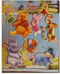 Disney Dekoracje Ścienne licencja Marko Dekoracja Zestaw 3D Kubuś Puchatek