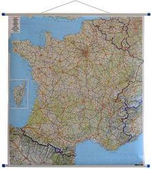 Freytag&Berndt Francja mapa ścienna samochodowa 1:1 000 000 Freytag & Berndt