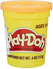 Hasbro Play-Doh Tuba Pojedyncza 112 g Pomarańczowa 5010994966324 pomarańczowa
