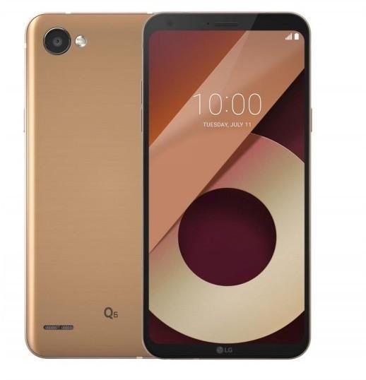 LG Q6 32GB Dual Sim Złoty
