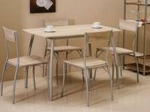Signal Zestaw MODUS (stół + 4 krzesła) dąb sonoma MODUSD