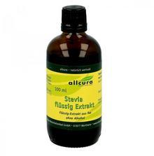 allcura Naturheilmittel GmbH Stevia płynny ekstrakt słodzik 100 ml