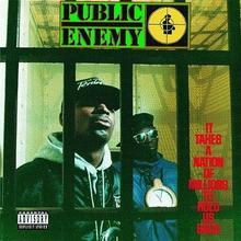 It Takes a Nation of Millions to Hold Us Back CD) Public Enemy