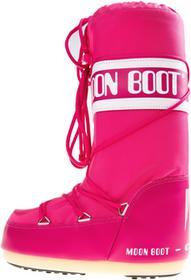 Moon Boot MB Nylon Śniegowce Różowy 23-26 (197296)