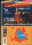 Demart Warszawa  - atlas aglomeracji (skala 1:16 000) - Praca zbiorowa