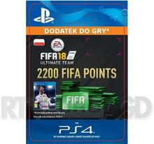 FIFA 18 2200 Punktów PS4
