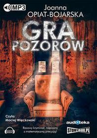 Gra pozorów (audiobook CD) - Joanna Opiat-Bojarska