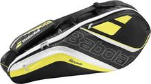 Babolat Team Junior x6 - black/yellow 135633