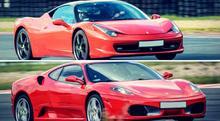 Pojedynek Ferrari Italia vs. Ferrari F430 - Wiele torów (po 3 okrążenia)