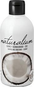Naturalium Szampon z odżywką Kokos 400 ml