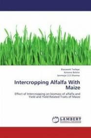 LAP Lambert Academic Publishing Intercropping Alfalfa With Maize