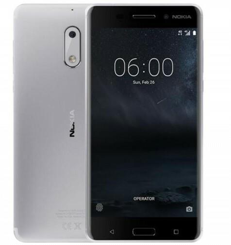 Nokia 6 32GB Srebrny