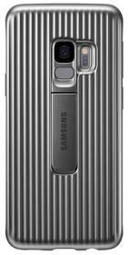 Samsung Obudowa dla telefonów komórkowych Protective Cover pro Galaxy S9 EF-RG960C) EF-RG960CSEGWW) Srebrny