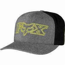 Fox czapka z daszkiem Transistor Flexfit Heather Black 243)