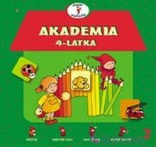 WYDAWNICTWO-SKRZAT Akademia 4-latka 9788374370196