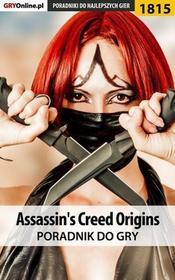 "Assassins Creed Origins poradnik do gry Jacek \""Stranger"" Hałas Natalia ""N.Tenn"" Fras PDF)"