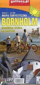 Plan  Bornholm. Mapa turystyczna w skali 1:45 000