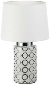 Dekoria Lampa stołowa Akina ceramiczna 66cm 66cm 009-006