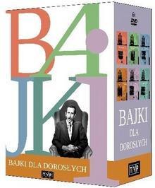Telewizja Polska S.A. Pakiet. Bajki dla dorosłych. 6 DVD Janusz Rzeszewski