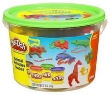 Hasbro Play-Doh Kolorowe wiaderko Animal Activitie 23413
