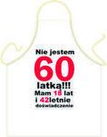Fartuszek Urodzinowy 60 dla Niej Fur60o