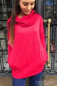 Damski sweter MAIA FUCHSIA 006003-2