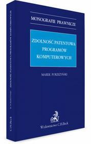 Porzeżyński Marek Zdolność patentowa programów komputerowych0