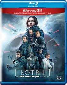 Łotr 1 Gwiezdne wojny historie 3 Blu-ray 3D)