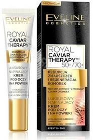 Eveline COSM Royal Caviar Therapy luksusowy napinający krem pod oczy i na powieki 15 ml   DARMOWA DOSTAWA OD 149 PLN!