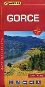 Wydawnictwo Compass Gorce mapa turystyczna 1:40 000 - Compass