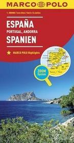 Hiszpania Portugalia mapa - Euro Pilot