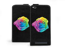 Etuo.pl etuo Flip Fantastic - Xiaomi Redmi 4A - etui na telefon Flip Fantastic - kolorowa róża ETXM451FLFCFF018000