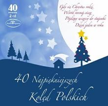 40 najpiękniejszych kolęd polskich Digipack) CD) Warner Music Poland