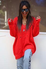 Damski sweter ELEANORA RED 02002-312