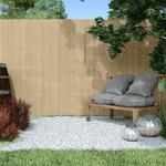 Jarolift Dwustronna mata osłonowa PVC Standard. szer. listwy 13 mm. bambus. 400x90 cm