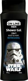 On Line Star Wars Refreshing Men 400 ml Żel pod prysznic DARMOWA DOSTAWA DO KIOSKU RUCHU OD 24,99ZŁ