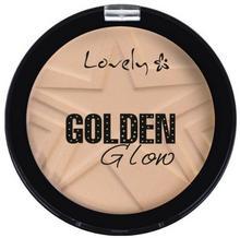 Lovely Lovely Golden Glow Puder Rozświetlający z Drobinkami 1 LOV-7060